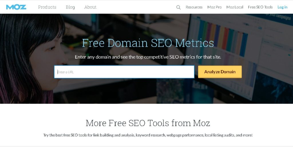 backlinks de una web moz