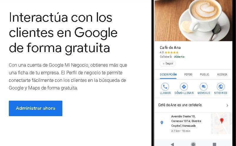 Google My Business GMB amplía las capacidades de edición del perfil